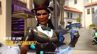 The Attack Symmetra God, Clutch Teleporter Flanks! | Overwatch