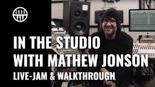 In The Studio with Mathew Jonson | Thomann