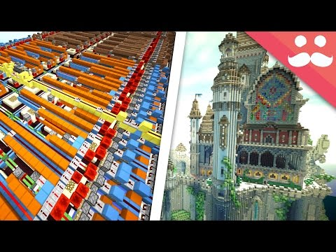 How To Do BIG BUILDS In Survival Minecraft!