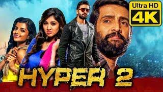 Hyper 2 (4K Ultra HD) Comedy Hindi Dubbed Movie | Santhanam, Ashna Zaveri