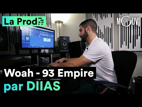 Youtube: 93 Empire  – « Woah » : Comment Diias a composé le hit