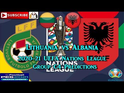 Lithuania vs Albania | 2020-21 UEFA Nations League | Group C4 Predictions eFootball PES2021