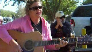"Teresa ""Jokey"" Michel sings John Prine song ""Unwed Fathers"""