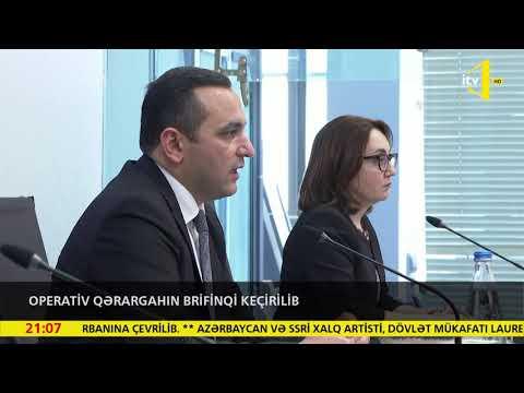 Operativ Qərargahın Brifinqi Keçirilib