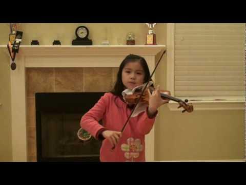 Paganini La Campanella-Jocelyn 10 violin