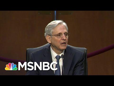 Weissmann: The Contrast Between Barr & Garland Is As Strong As The Contrast Between Trump And Biden