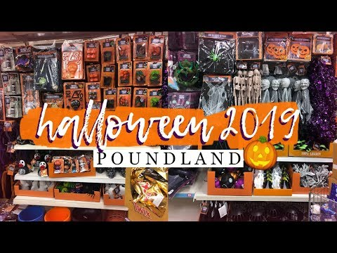 POUNDLAND HALLOWEEN 2019 RANGE 🎃 SEPTEMBER 2019