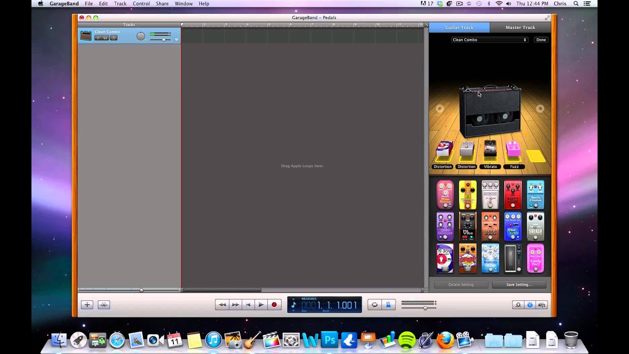 how to add add pedals in garageband youtube. Black Bedroom Furniture Sets. Home Design Ideas