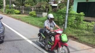 Driving in Krabi Thailand