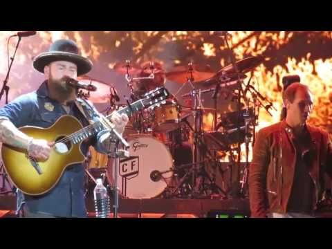 Zac Brown Band 2 Places At 1 Time Alpharetta Georgia May 12, 2017 Welcome Home Tour