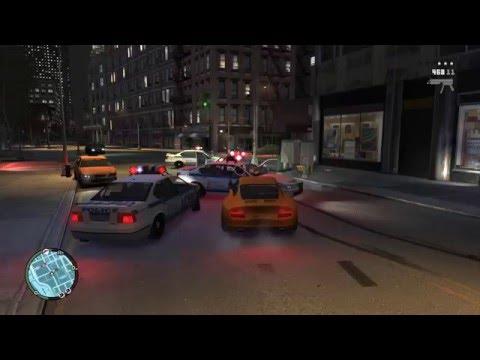 [GTA IV] #1 Gameplay Shooting at Police [1440P 60fps]