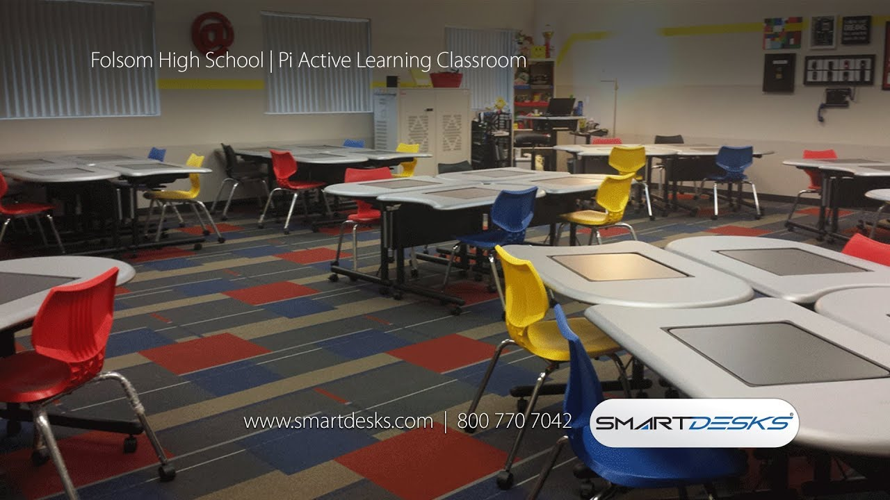 SMARTdesks Classroom Design Ideas at Work | Case Studies
