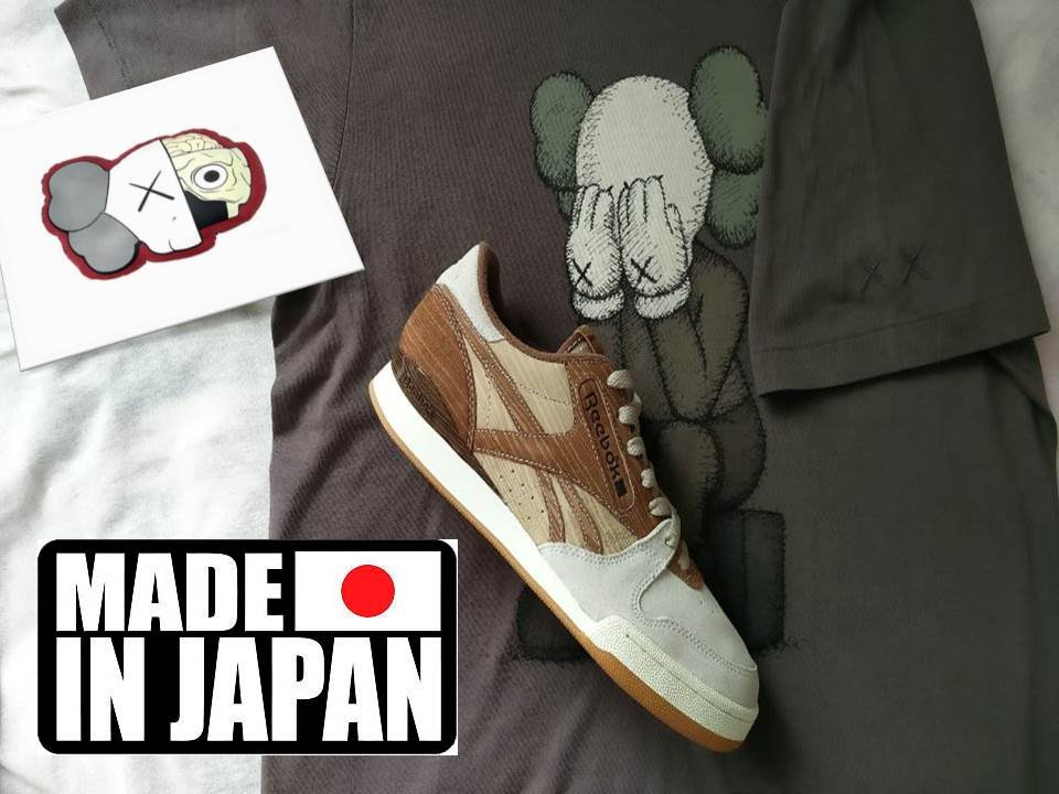db63976dd8a Made in Japan - Kaws  who   - Reebok Mita Phase 1 Pro Wood - YouTube