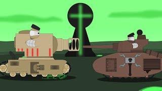 "Танки КВ-2 ""Рагнарёк"" и ""Мордиан"". Начало. Warhammer40k - Мультики про танки"