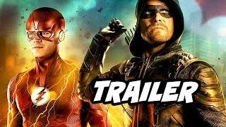 The Flash Season 5 Episode 2 Promo - Arrow Crossover Teaser Breakdown
