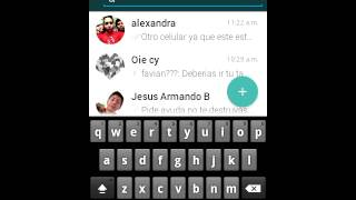 Whatsapp versión lollipop para android 2.3
