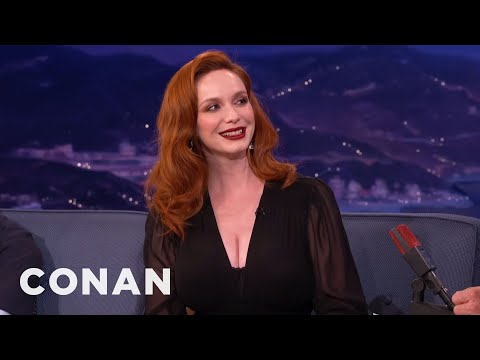 Christina Hendricks Is Thinking About Going Blonde