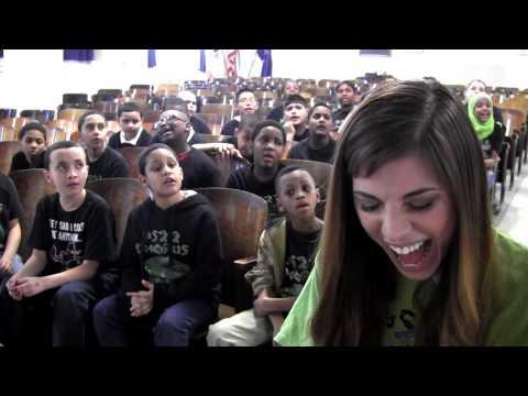 """Human"" Christina Perri ft. PS22 Chorus"