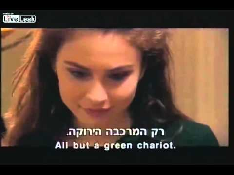 Russian song (Green Carriage) in Israeli cinema