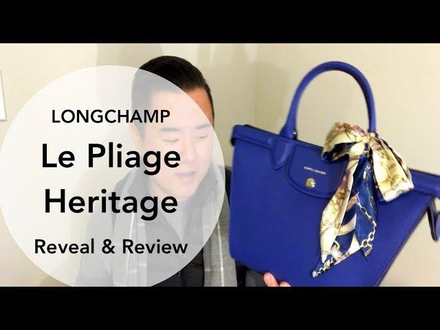 Longchamp Le Pliage Heritage Medium Reveal & Review! - YouTube