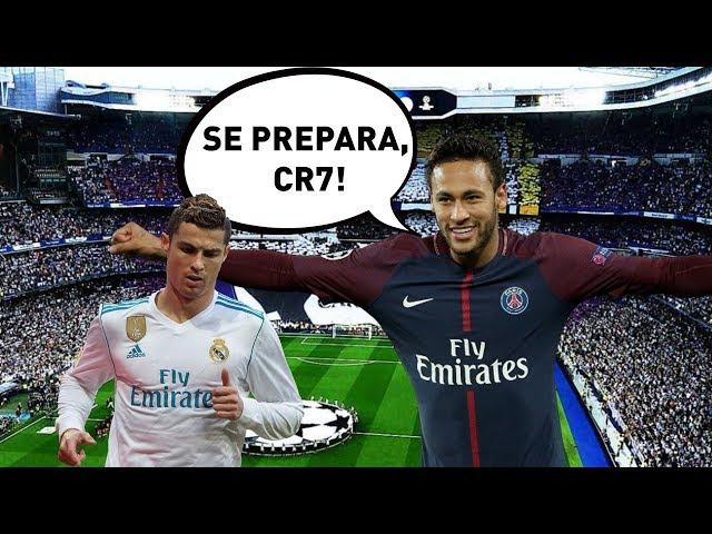 Vai dar PSG? Olha como Neymar já DESTRUIU o Real Madrid!