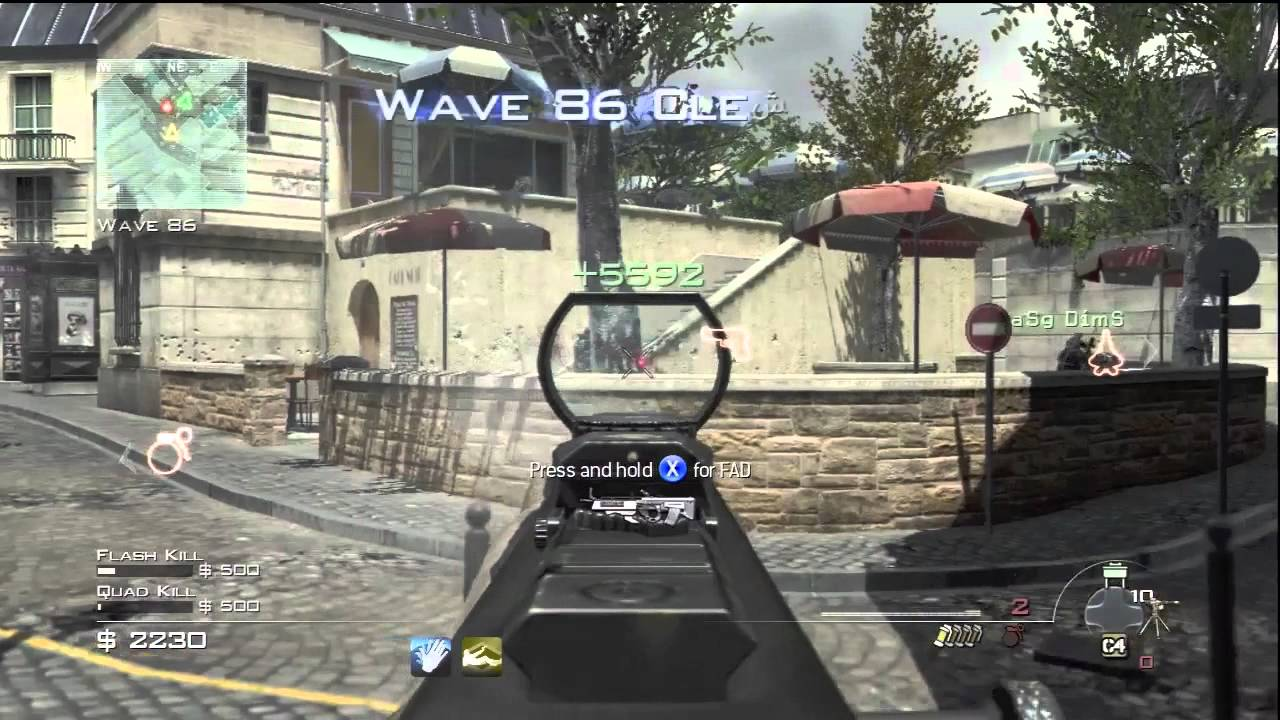 Mw3 Survival Resistance Wave 90 World Record Call Of Duty Modern