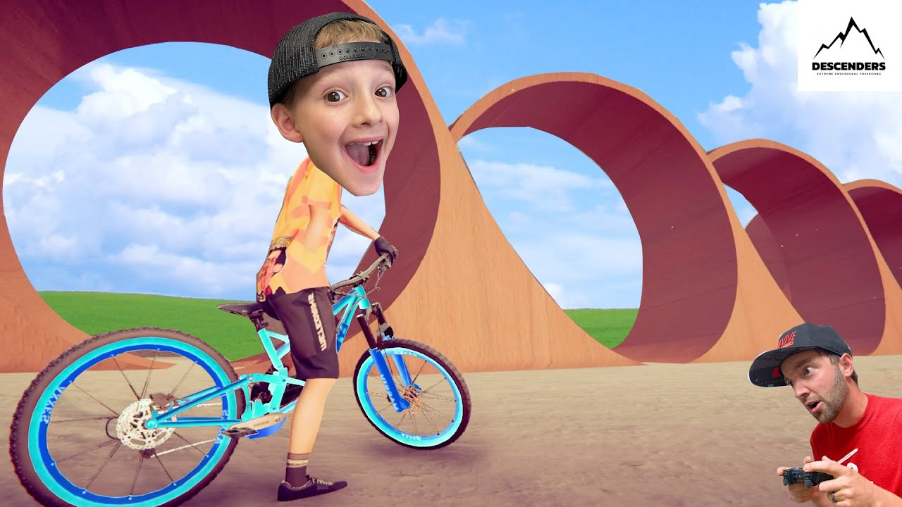 FATHER SON BIKING VIDEO GAME / The Death Loop!