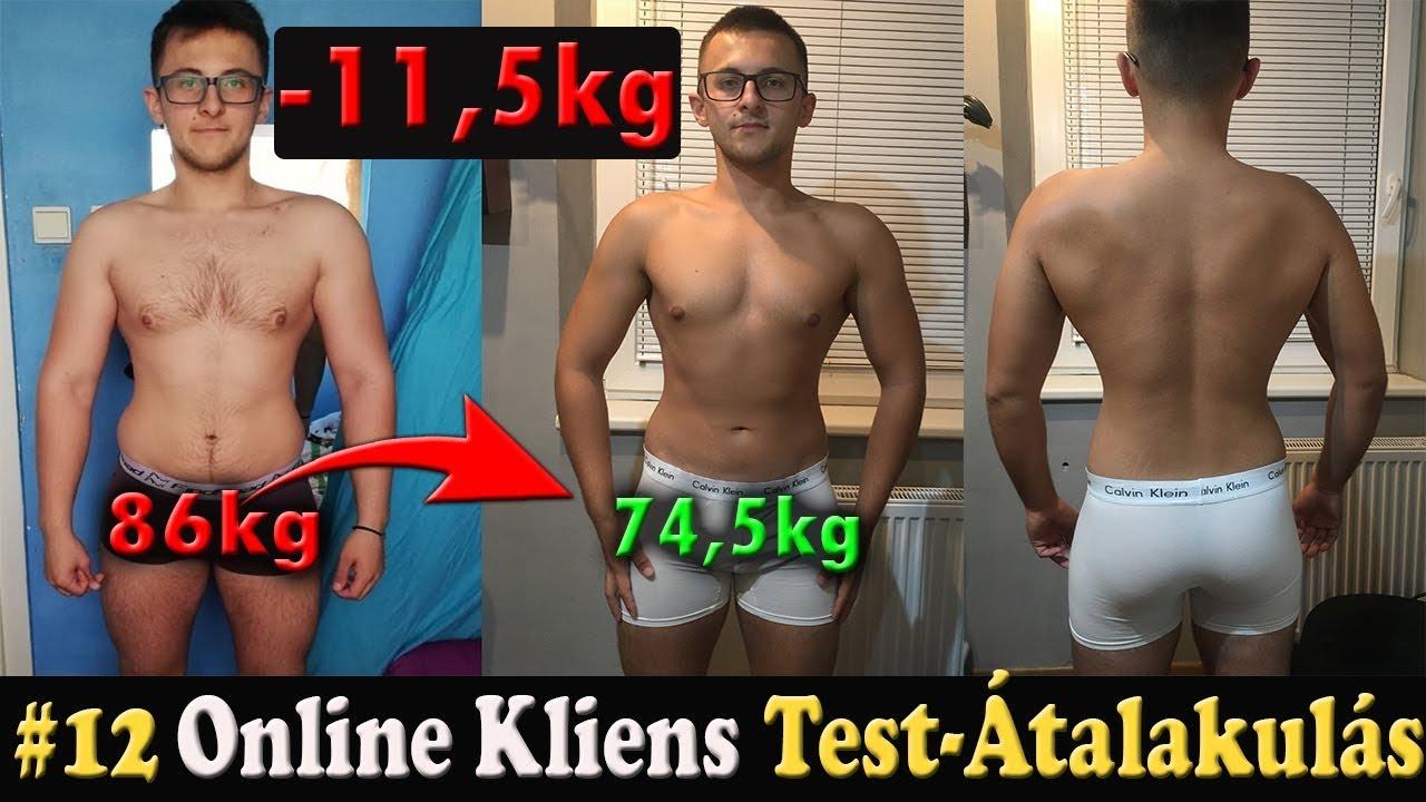 2 lb súlycsökkenés átalakulás
