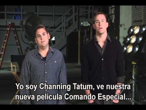 Channing Tatum y Jonah Hill te invitan a ver Comando Especial