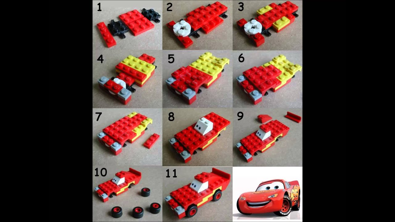 lego cars lightning mcqueen bauanleitung youtube. Black Bedroom Furniture Sets. Home Design Ideas