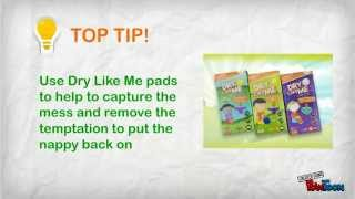 Potty Training Live! Week 2 - Go for it - take the nappy off!