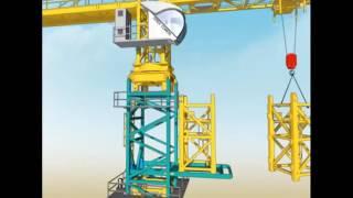 cara pemasangan tower crane yang baik dan terstruktur # DUNIA TEKNIK SIPIL