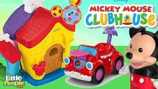 Disney Junior MICKEY MOUSE CLUBHOUSE, Mickey and Minnies House Little TOYS and SURPRISES
