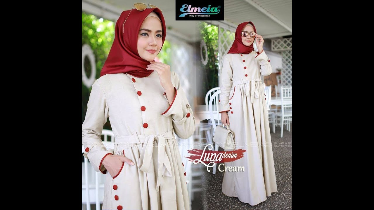 Model Dress Hijaber Remaja Dewasa Awal Tahun 2018 Daily Hijab Fashion Style Youtube