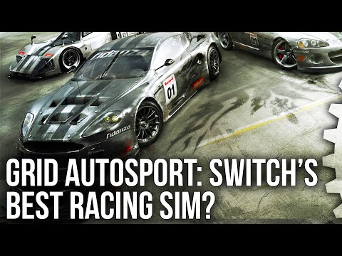 Grid Autosport: Switch's Best Racing Sim? - Full Tech Breakdown!