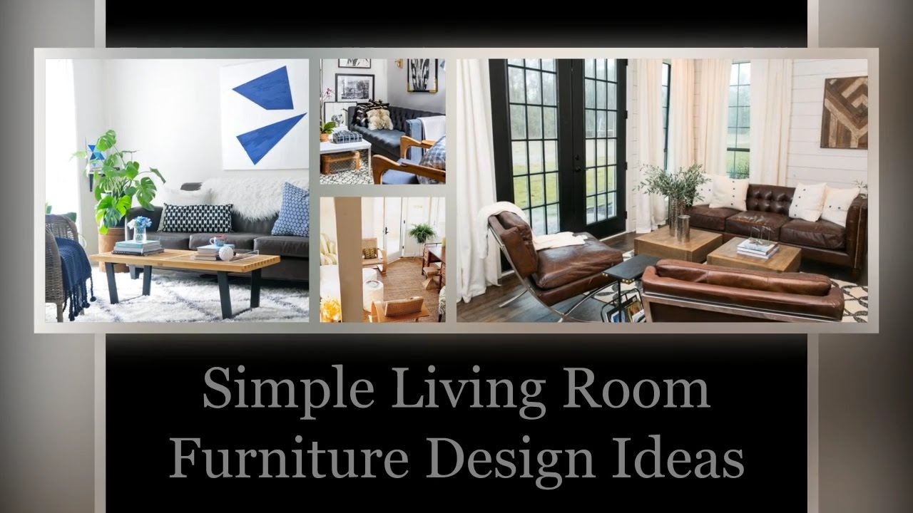 Simple Furniture Design Living Room simple living room furniture design ideas | decolisto - youtube