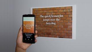 Создание Android приложения для распознавания текста за 10 Минут  Mobile Vision CodeLab