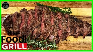 GRILLED RIBEYE STEAK ON THE NINJA FOODI GRILL! | Ninja Foodi Grill Recipes