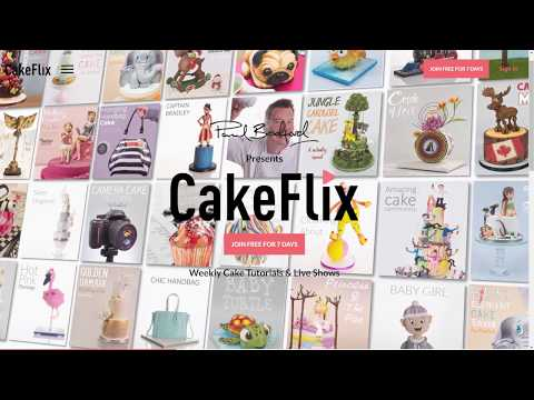 Cakeflix - Online cake decorating lessons and tutorials