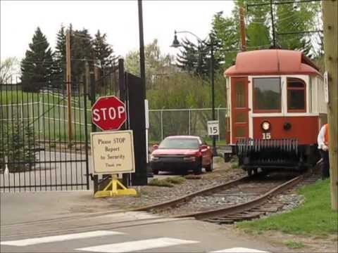 The Calgary Heritage Park Streetcar