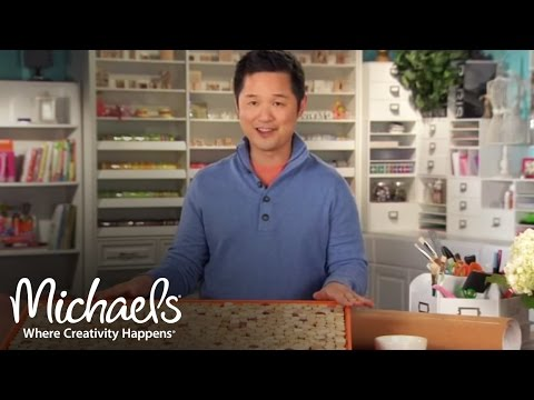 Danny Seo: Cork Mat | DIY Home Décor | Michaels