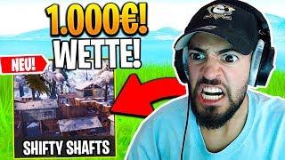 WER zuletzt SHIFTY SHAFTS verlässt bekommt 1000€ in Fortnite ..
