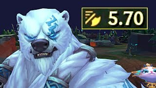 NEW VOLIBEAR with 5.70 ATTACK SPEED!