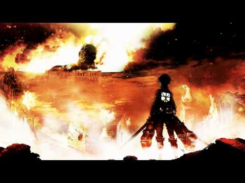 Shingeki No Kyojin - Guren No Yumiya English Cover By Shadowlink4321 & AmaLee Full Extended