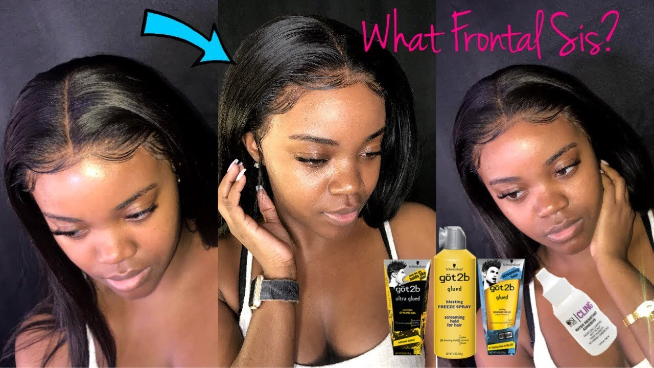How To Install A Lace Frontal Wig Secrets Revealed Using Cling