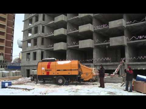 Стационарный бетононасос SANY HBT120-2016D от ПромСтройКонтракт