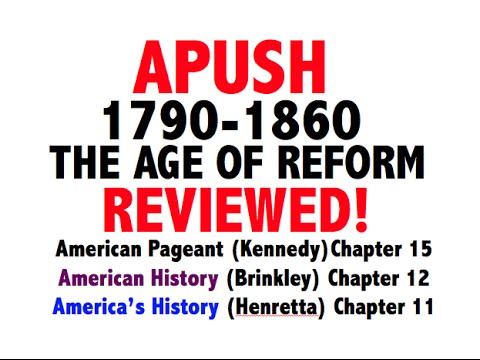 American Pageant Chapter 15 Review APUSH