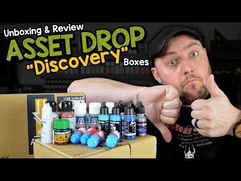 """Asset Drop """"Discovery"""" Boxes 📦 May & June - Unboxing REVIEW"""