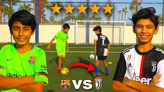 13 Yaşında MESSİ vs 14 Yaşında RONALDO (Kim Daha İyi?)