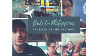 From Bali to Manila, PHILIPPINES + immigration scare // Ep 24 Southeast Asia Travel Vlogs
